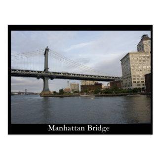 Manhattan överbryggar vykort
