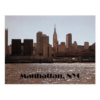 Manhattan vykort