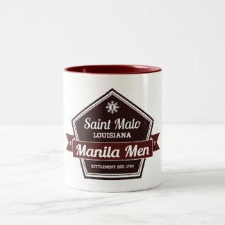 Manila manar Två-Tonad mugg