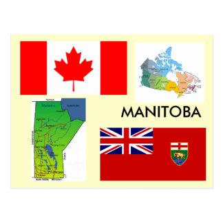 Manitoba Kanada Vykort