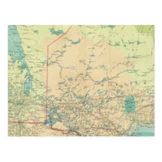 Manitoba & Northwest Ontario Vykort