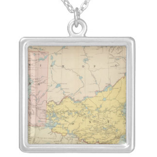 Manitoba Silverpläterat Halsband