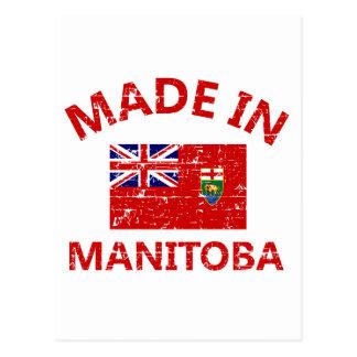 Manitoba vapensköld vykort