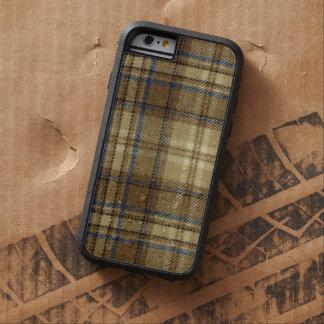 Manly Retro lantlig varm pläd för beige- och Tough Xtreme iPhone 6 Skal