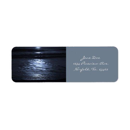 Månsken av Shirley Taylor Returadress Etikett