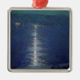 Månsken på floden, 1919 julgransprydnad metall