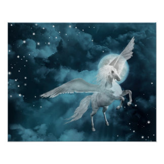 månsken pegasus poster