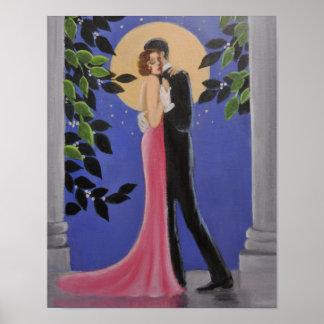 Månskendans, affisch poster