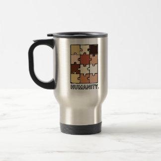 """""""Mänsklighet."""", Bärbar kaffemugg"""