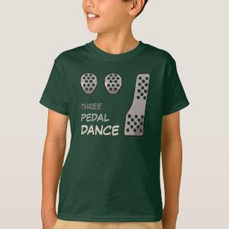 MANUELL överföring - pedal- dans tre T-shirt
