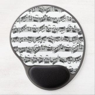 Manuskript för musik för Bach violoncellfölje Gel Musmatta