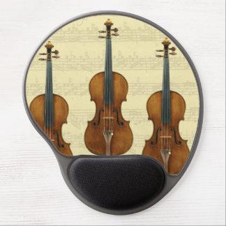 Manuskript för Stradivari fiolBach Partita musik Gel Musmatta