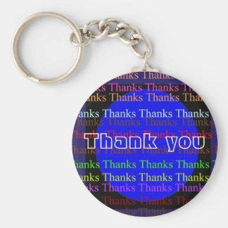 Manyways till tack - tack rund nyckelring