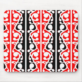 Maori Kowhaiwhai stam- mönster Musmatta