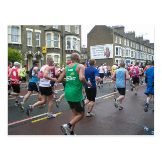 Maraton i London 2010 Vykort