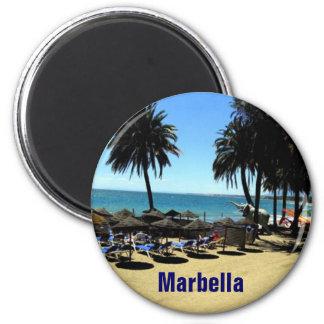 Marbella magnet magnet rund 5.7 cm