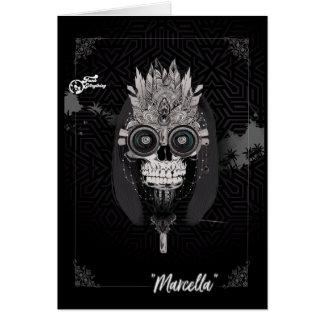 Marcella stam- kort