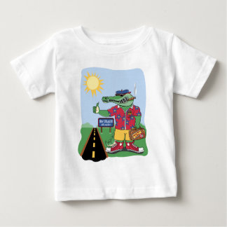 Mardi Gras alligator Tee Shirts