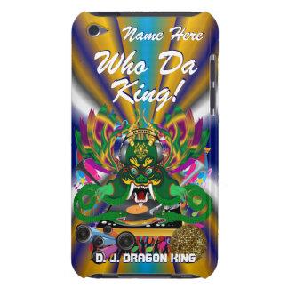 Mardi Gras D.J. Drake Göra till kung beskådar Barely There iPod Covers