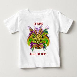 Mardi-Gras-Mask-The-Queen-V-2 Tee Shirt
