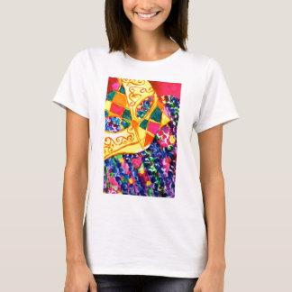Mardi Gras maskerar T-shirts