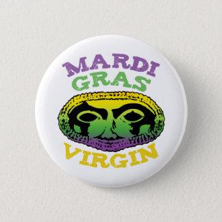 Mardi Gras oskuld Standard Knapp Rund 5.7 Cm