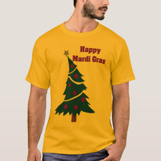 Mardi Gras träd Tee Shirt