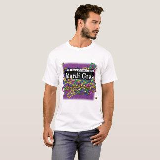 Mardi Gras undertecknar - tshirtlilor Tee Shirt