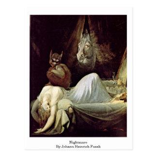 Mardröm av Johann Heinrich Fuseli Vykort