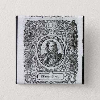 Margaret av Parma, regulator av Nederländerna Standard Kanpp Fyrkantig 5.1 Cm