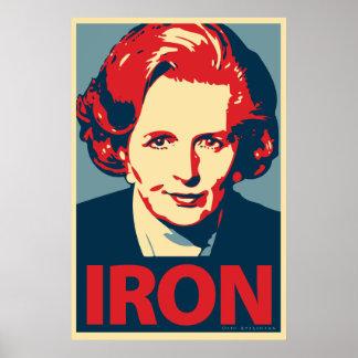 Margaret Thatcher affisch
