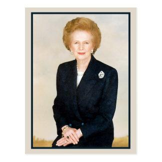 Margaret Thatcher järndamen Vykort