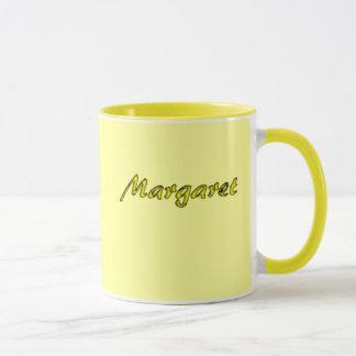 Margarets gul kaffemugg