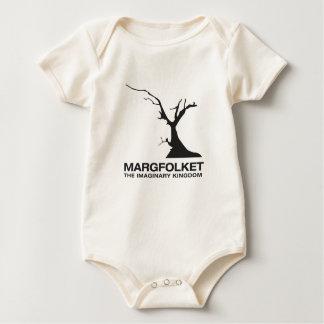 Margfolket T-tröjaspädbarn Creeper