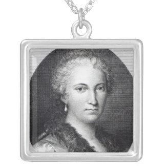 Maria Gaetana Agnesi Silverpläterat Halsband