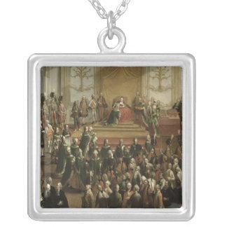 Maria Theresa Silverpläterat Halsband