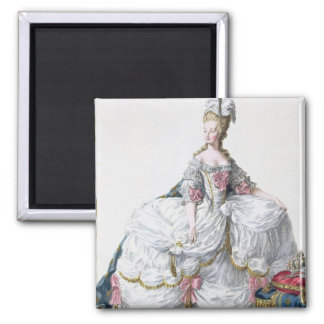 Marie Antoinette (1752-93) från 'Receuil des Estam