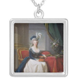 Marie-Antoinette 1788 Silverpläterat Halsband