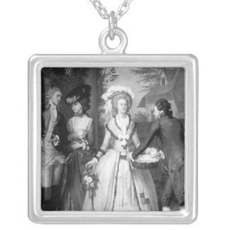 Marie-Antoinette av Habsburg-Lorraine Silverpläterat Halsband