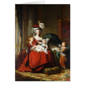 Marie-Antoinette de Lorraine-Habsbourg Hälsningskort