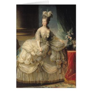 Marie Antoinette drottning av frankriken, 1779 Hälsningskort