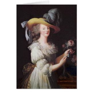Marie Antoinette Hälsningskort