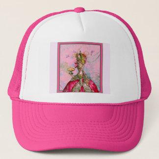 Marie Antoinette påfåglar och tårtor Truckerkeps