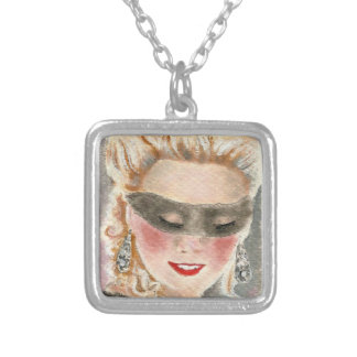 Marie-Antoinette. Silverpläterat Halsband