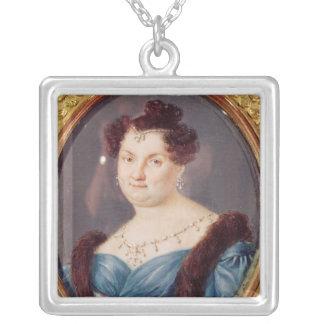 Marie-Christine de Bourbon Silverpläterat Halsband