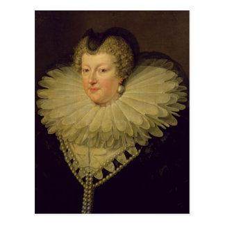 Marie de Medici, c.1617 Vykort