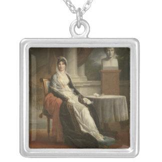 Marie-Laetitia Ramolino 1803 Silverpläterat Halsband