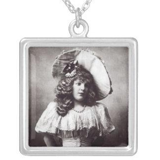 Marie Lloyd Silverpläterat Halsband
