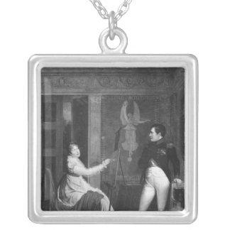 Marie Louise av Habsburg Lorraine Silverpläterat Halsband