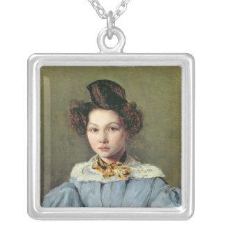 Marie Louise Sennegon, 1831 Silverpläterat Halsband